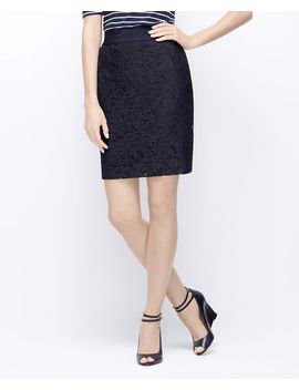 petite-lace-pencil-skirt by ann-taylor