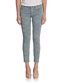 gwenevere-cropped-floral-print-jeans by 7-for-all-mankind