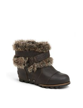 joan-of-arctic-waterproof-wedge-bootie by sorel