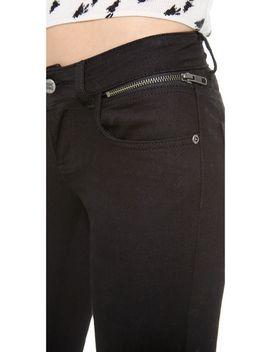 double-zip-skinny-jeans by anine-bing