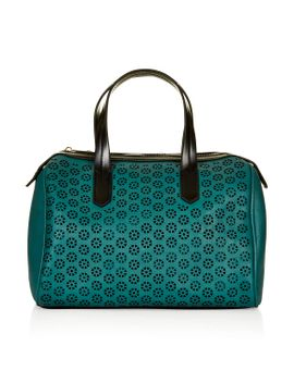 mini-laser-cut-holdall by topshop