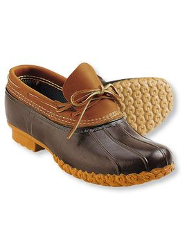 womens-bean-boots-by-llbean®,-rubber-moc by llbean