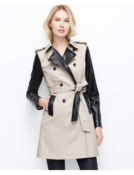 edgy-trench by ann-taylor