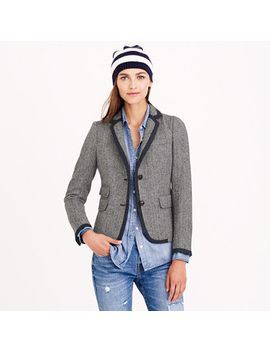 petite-schoolboy-tipped-blazer by jcrew