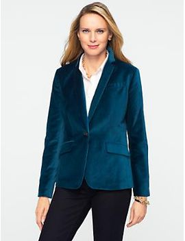 plush-velvet-jacket by talbots