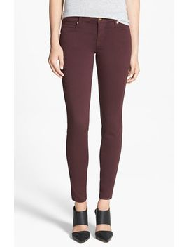 shya-skinny-twill-pants by genetic