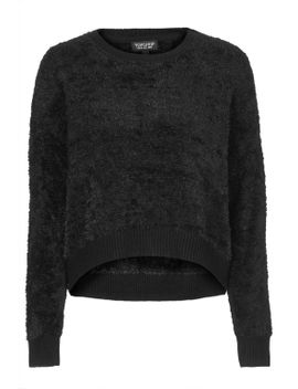 fluffy-knit-sweater by topshop