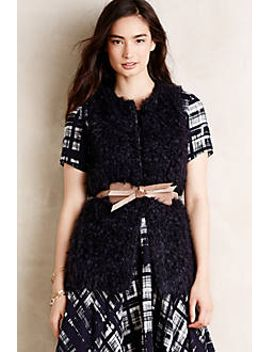 belmont-faux-fur-vest by anthropologie