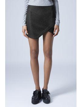 tinsel-wrap-mini-skirt by topshop
