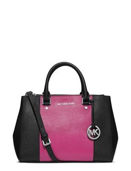 medium-sutton-center-stripe-satchel by michael-michael-kors