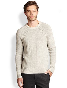 wool-blend-crewneck-sweater by vince