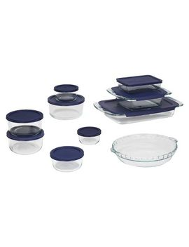 pyrex-19-piece-bake-and-store-set-clear by pyrex
