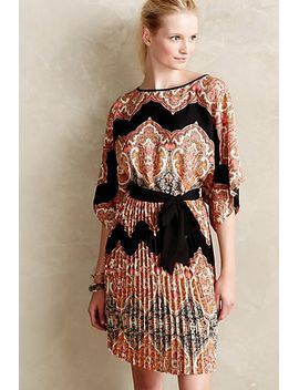bera-pleated-dress by anthropologie