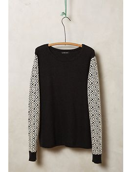 muto-contrast-pullover by anthropologie