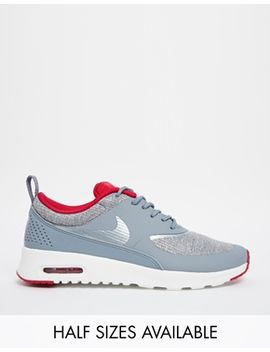 nike-air-max-thea-premium-grey-trainers by nike
