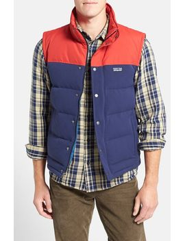 bivy-water-repellent-traceable-600-fill-power-down-vest by patagonia