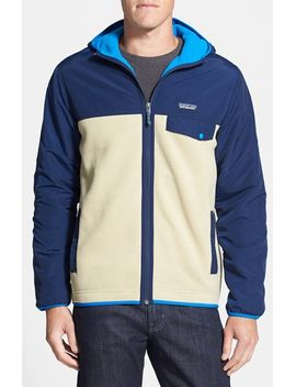 synchilla-snap-t-water-repellent-fleece-hoodie by patagonia