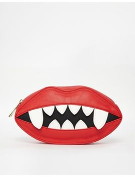 asos-lips-clutch-bag by asos-collection