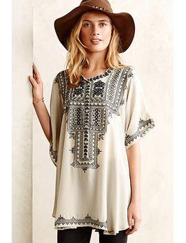 decca-silk-tunic by biya