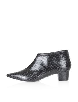 ashley-snake-point-ankle-boots by topshop