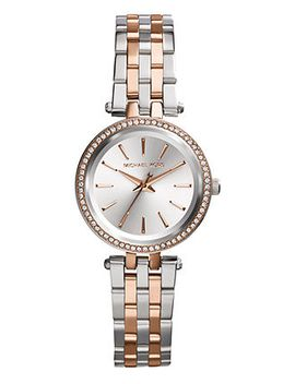 womens-petite-darci-two-tone-stainless-steel-bracelet-watch-26mm-mk3298 by michael-kors
