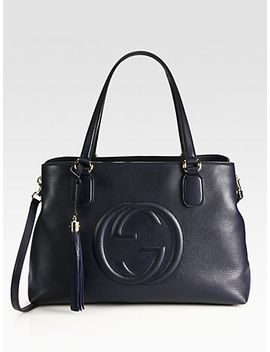 soho-leather-working-tote by gucci