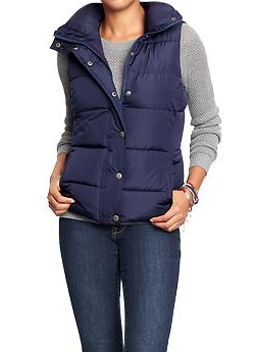 womens-frost-free-quilted-vests by old-navy