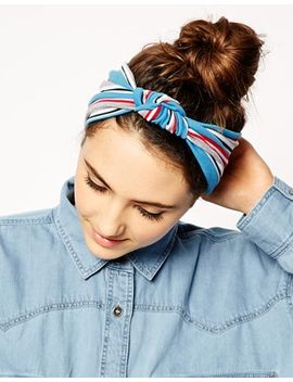 asos-turban-headband-with-stripe-knot by asos-collection
