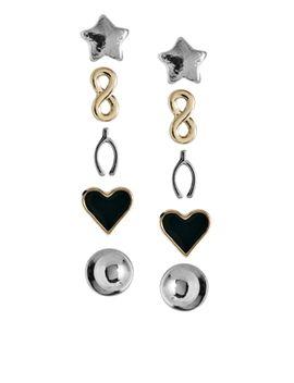 asos-infinity-stud-multipack-earrings by earrings
