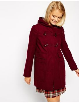 asos-duffle-coat-with-patch-pockets by asos-collection