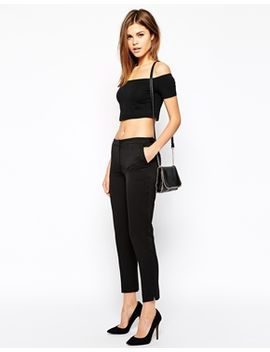 warehouse-textured-trousers by warehouse
