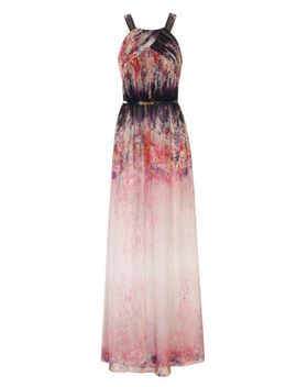 little-mistress-fade-print-chiffon-maxi-dress by dorothy-perkins