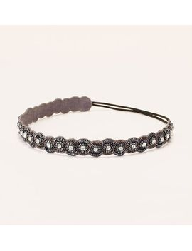 scalloped-beaded-headband by loft