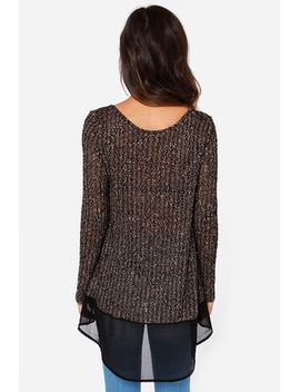 instant-classic-black-and-beige-sweater-top by lush