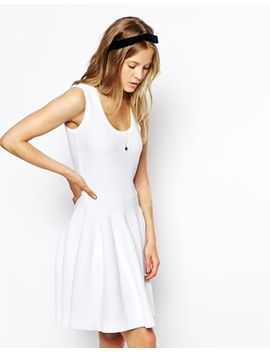 asos-skater-dress-in-structured-knit by asos-collection
