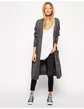 asos-longline-cardigan-with-mohair by asos-collection