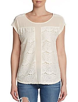lace-panel-scoopneck-top by romeo-&-juliet-couture