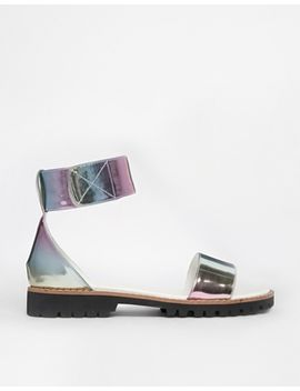 asos-fiza-flat-sandals by asos-collection