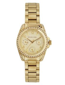 michael-kors-blair-mini-gold-chronograph-watch-mk5639 by michael-kors