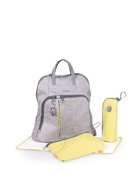 okiedog-urban-trek-backpack-diaper-bag-(grey) by okiedog