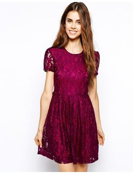 max-c-skater-dress-in-lace by casual-dress