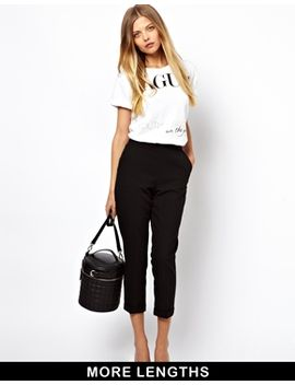 asos-crop-pants-with-clean-waistband by asos-collection