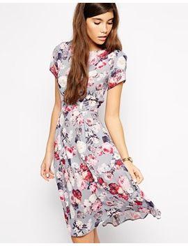 love-midi-skater-dress-in-floral by love