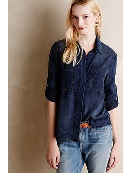 lauralee-chambray-shirt by anthropologie