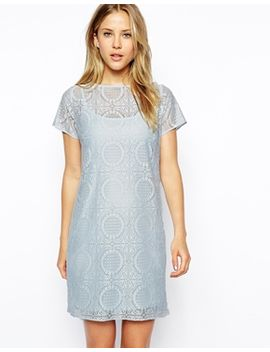 asos-shift-dress-in-lace by asos-collection