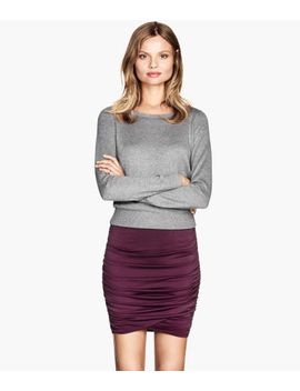 draped-skirt by h&m