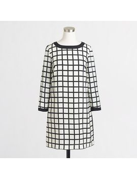 factory-printed-shift-dress by jcrew