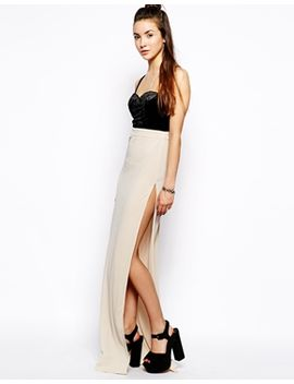 glamorous-maxi-dress-with-thigh-high-split by glamorous