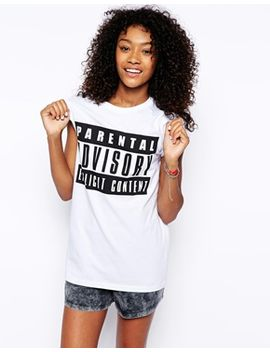 asos-t-shirt-with-parental-advisory by asos-collection