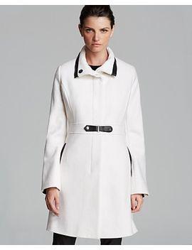 wool-toggle-coat by via-spiga